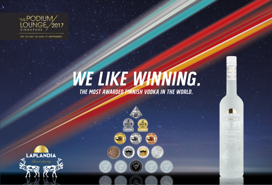 Laplandia Vodka on the way to the big leagues