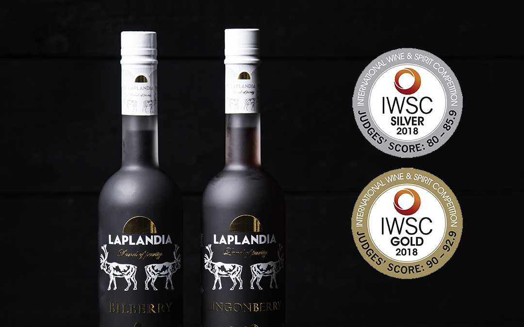 IWSC 2018 awarded Laplandia Vodka with gold